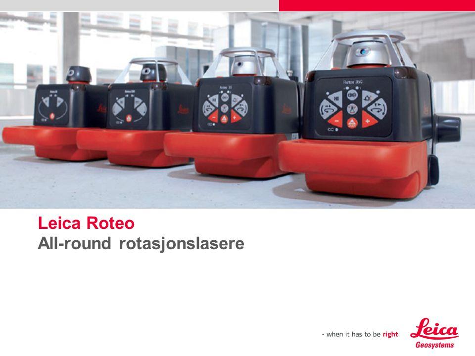 Leica Roteo All-round rotasjonslasere Sett inn et bilde (Sett inn, Bilde, fra fil).