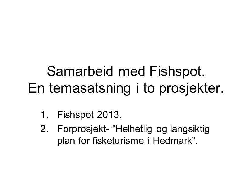 Samarbeid med Fishspot. En temasatsning i to prosjekter.