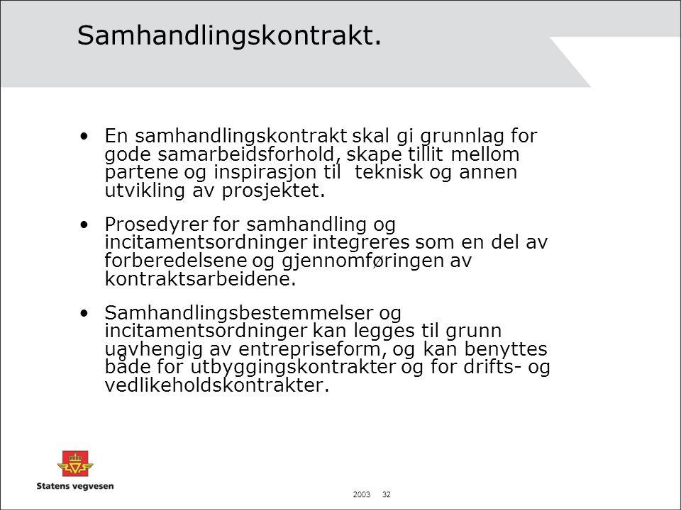 2003 32 Samhandlingskontrakt.