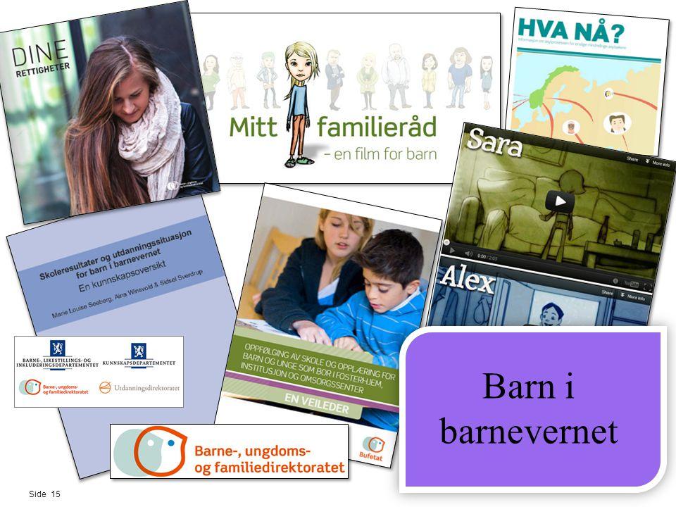 Side 15 Barn i barnevernet