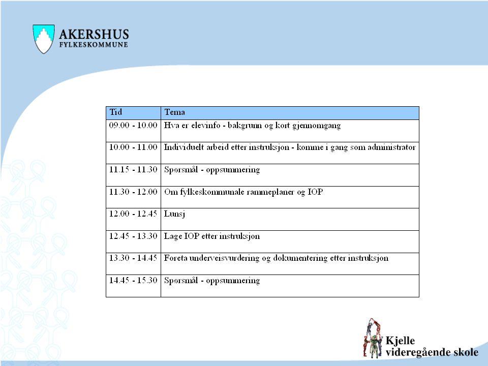 Sakkyndig vurdering, enkeltvedtak og IOP Elevens behov Sakkyndig vurdering EnkeltvedtakIOP