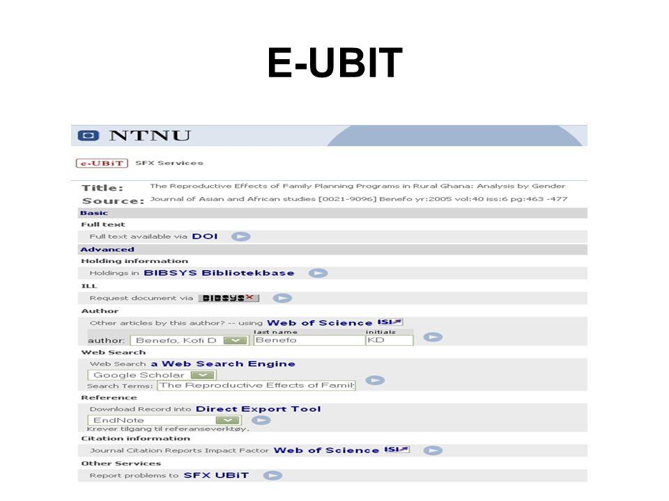 E-UBIT