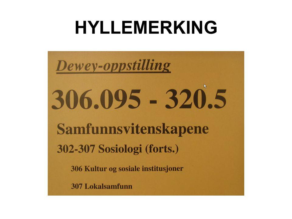 HYLLEMERKING