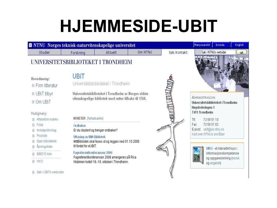 HJEMMESIDE-UBIT