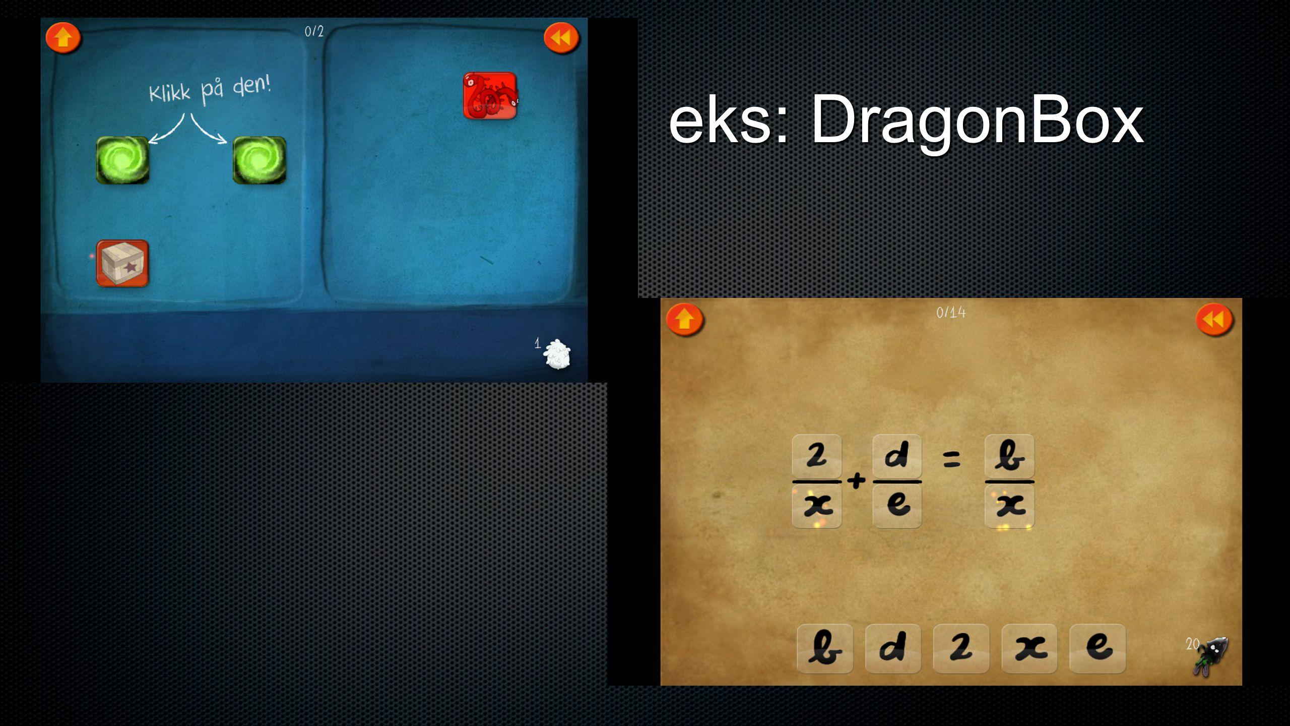 eks: DragonBox