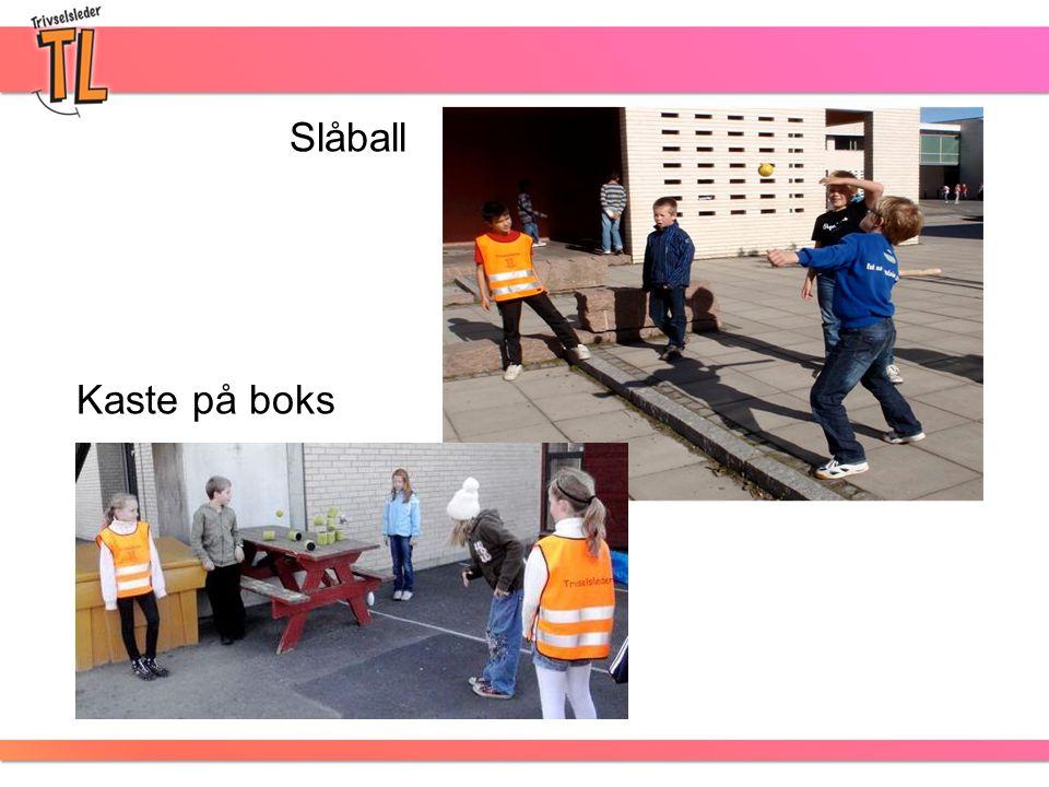Kaste på boks Slåball
