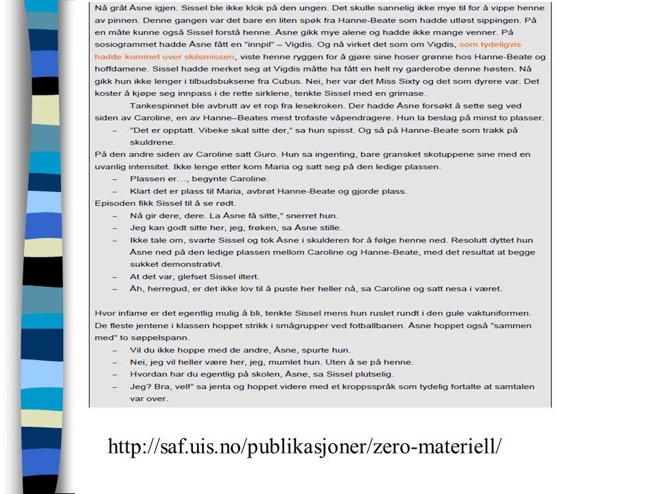 http://saf.uis.no/publikasjoner/zero-materiell/
