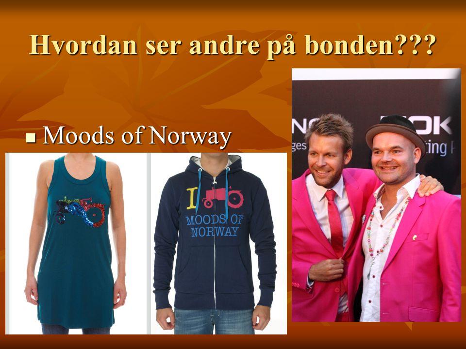 Hvordan ser andre på bonden???  Moods of Norway