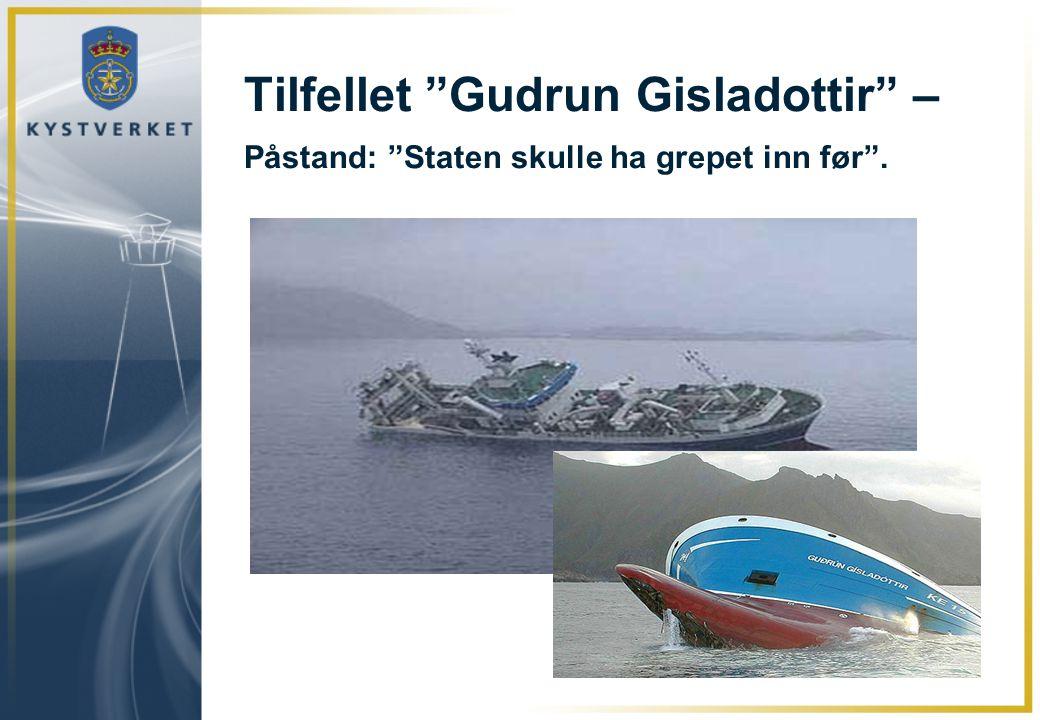 """Tilfellet """"Gudrun Gisladottir"""" – Påstand: """"Staten skulle ha grepet inn før""""."""