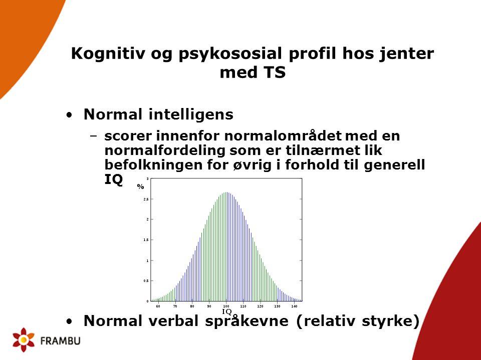 Definisjon på nonverbale lærevansker Omfattende vansker med nonverbal informasjonsbearbeiding, dvs.