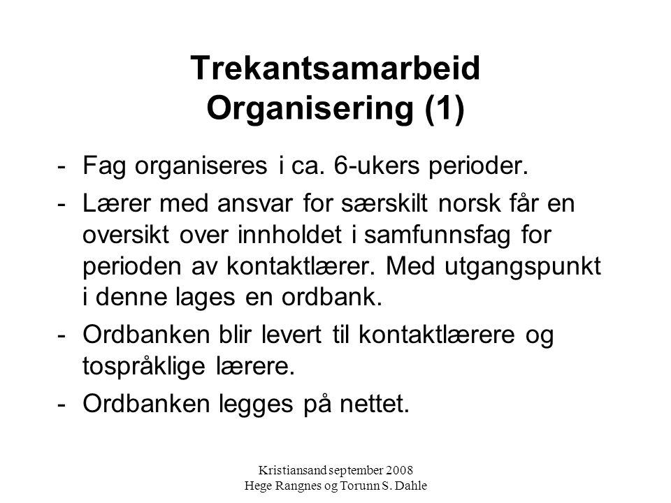 Kristiansand september 2008 Hege Rangnes og Torunn S.