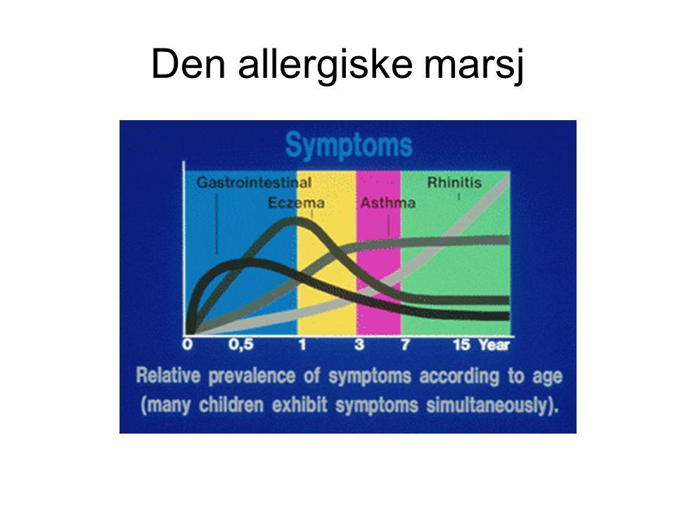Den allergiske marsj