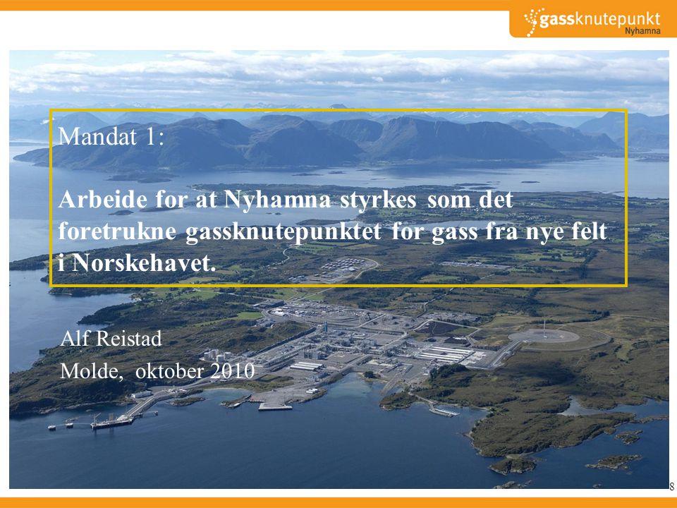 Mandat 3: Arbeide for utvikling av Høgskolen i Molde som senter for petroleumslogistikk.