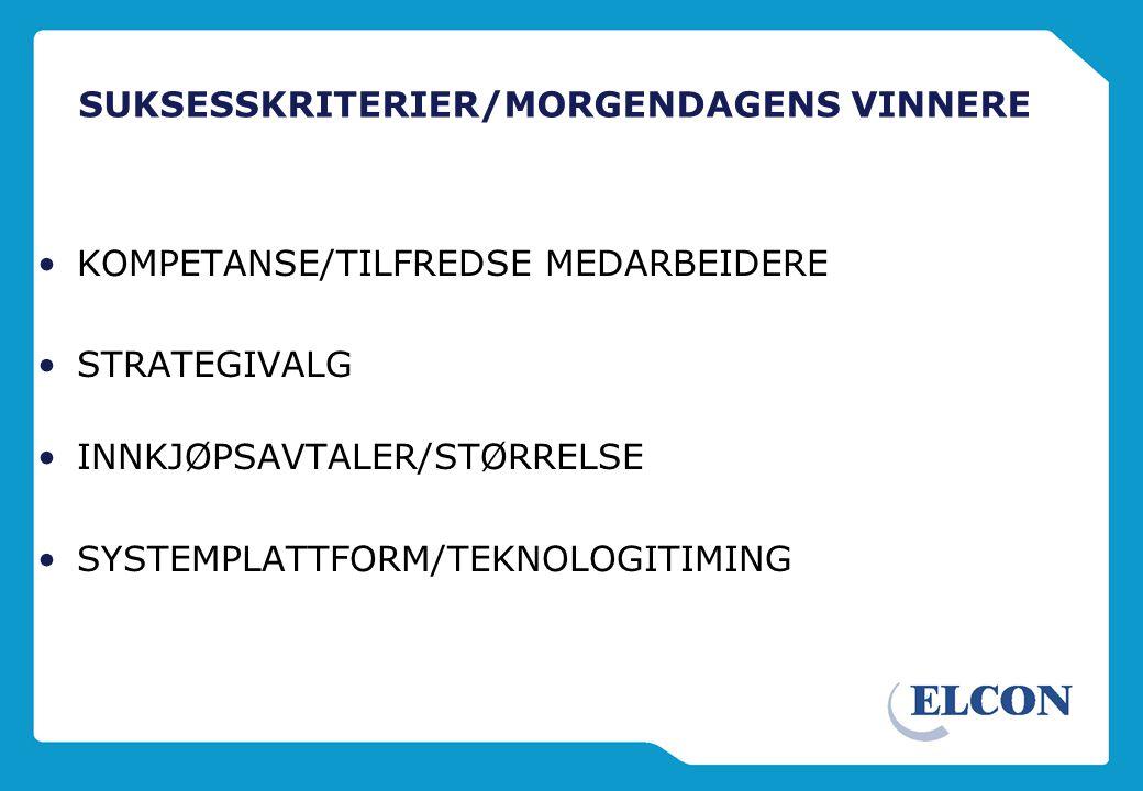 UTVIKLINGSTREKK 1990 - 2004 •NYE AKTØRER -LeasePlan, Autolease, ALD, Nordea, Nordania, BilPlan, Hertz Lease, Capitive selskaper ELCON? •MARKEDSVEKST •