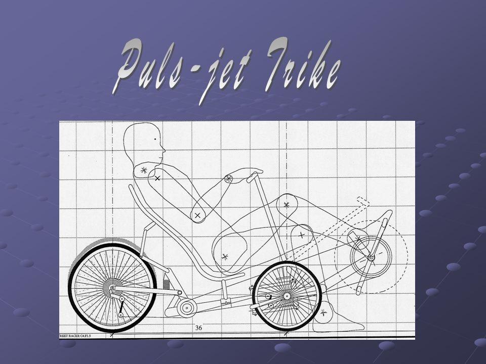 The Birth Of A Trike Vi bestemte oss etter vi så tegningene at dette skulle vi sette en puls-jet motor på og ta bort pedal systemet.