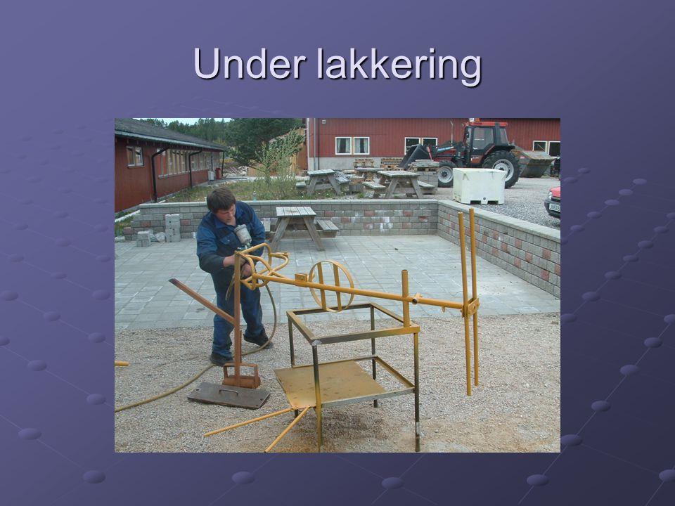 Under lakkering