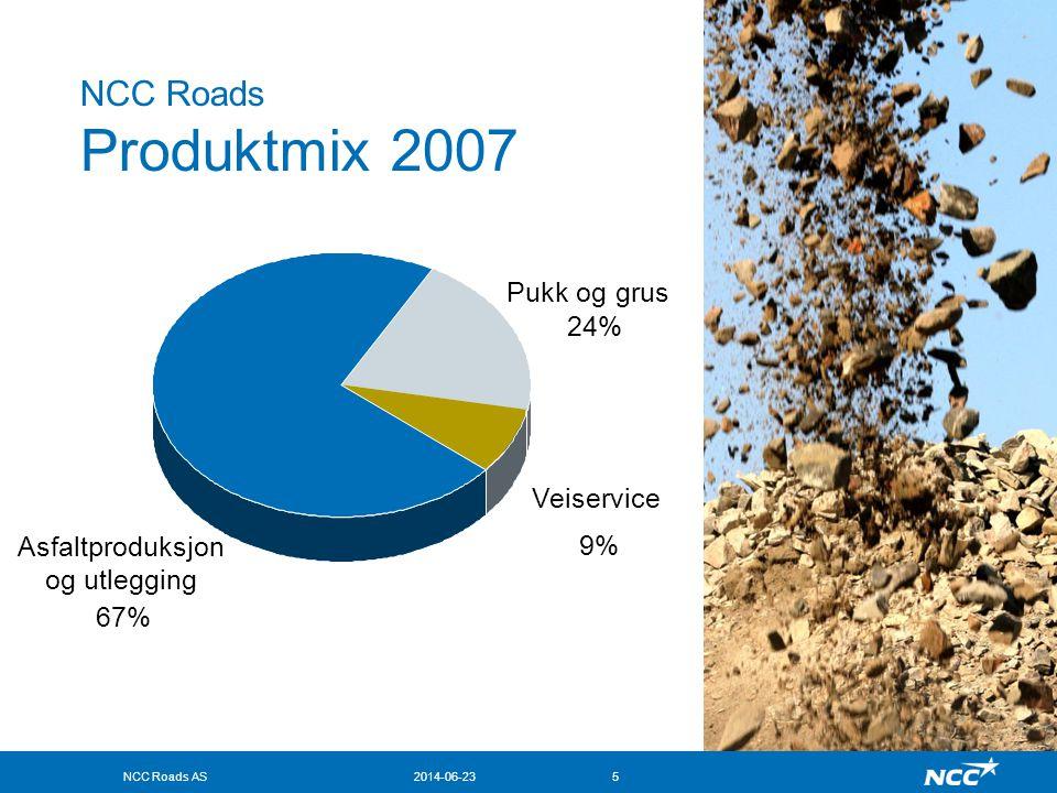 NCC Roads AS2014-06-236 Nytt Sentrallaboratorium for NCC Roads •Innflyttet i april 2008 •Driftslaboratorium for Region øst •Forskningslaboratorium