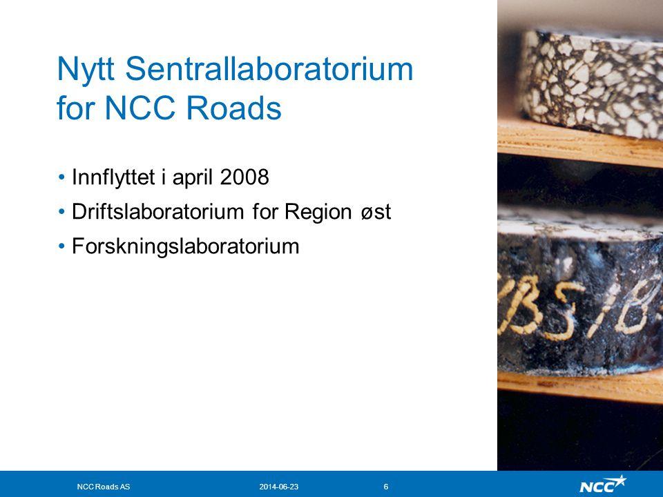 NCC Roads AS2014-06-237 Sentrallaboratorium