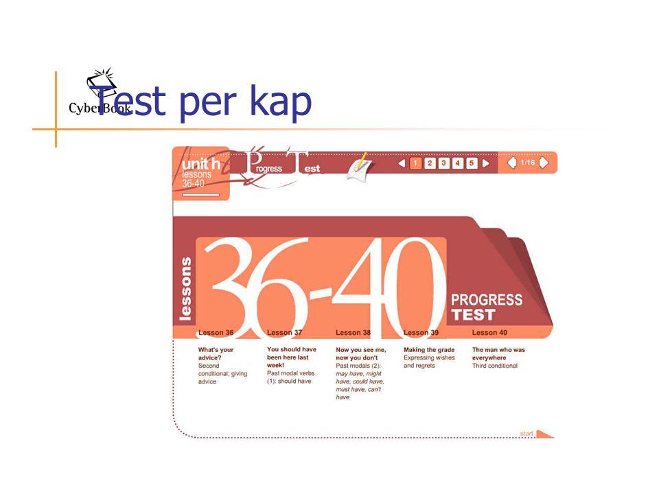 Test per kap