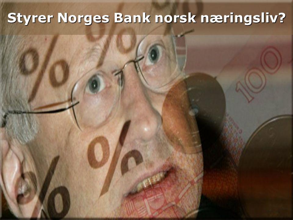 1 23. juni 2014 Styrer Norges Bank norsk næringsliv