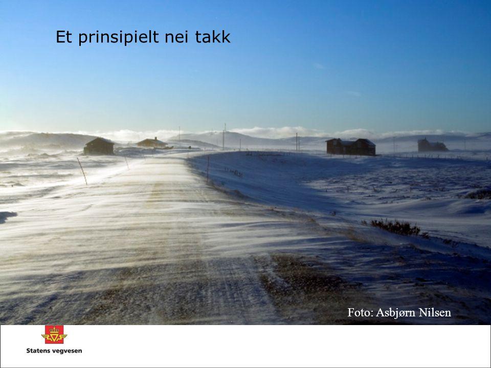 Et prinsipielt nei takk Foto: Asbjørn Nilsen