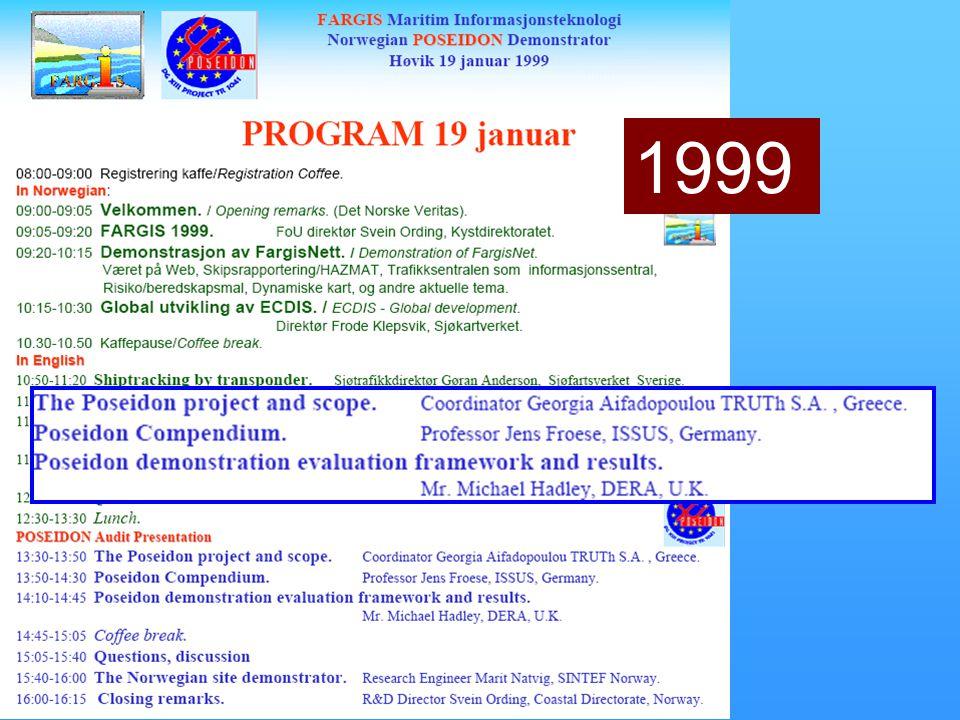 28. februar – 1. mars 1999