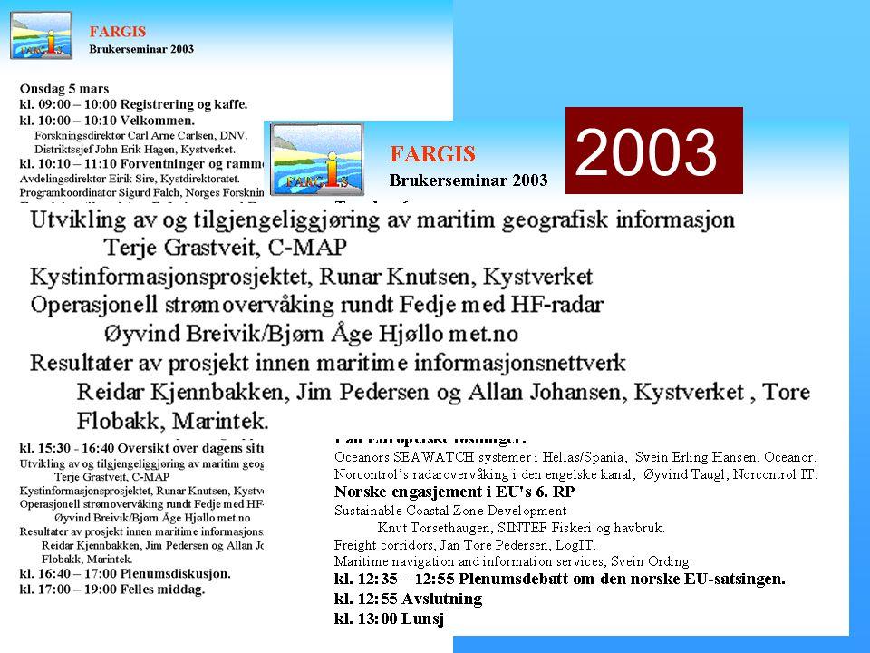28. februar – 1. mars 2003