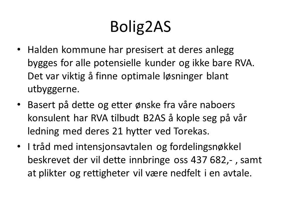 Bolig2AS • Halden kommune har presisert at deres anlegg bygges for alle potensielle kunder og ikke bare RVA.