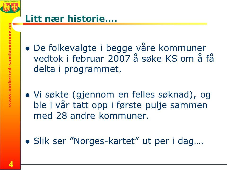 www.innherred-samkommune.no 4 Litt nær historie….