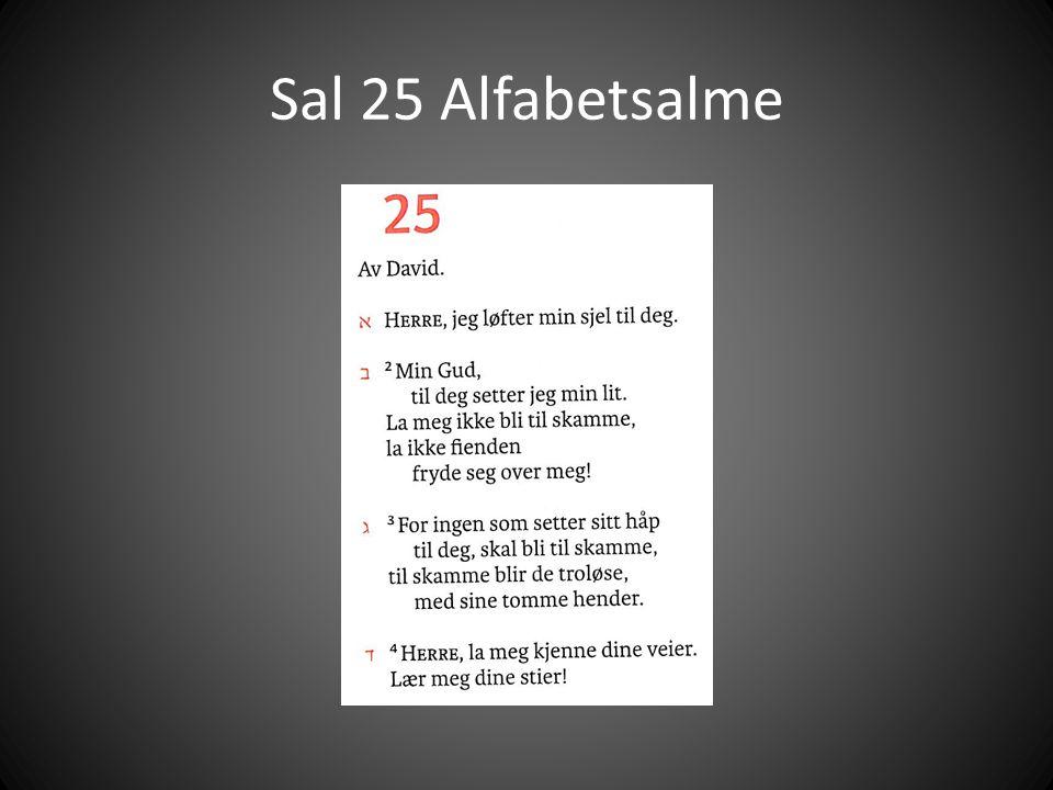 Sal 25 Alfabetsalme