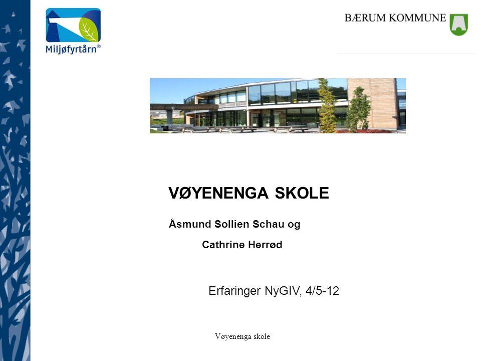 Vøyenenga skole Agenda •Intervju med elever i NyGIV •Organisering •Metodikk •Innhold 2011 •Erfaringer •Innhold 2012 •Utfordringer