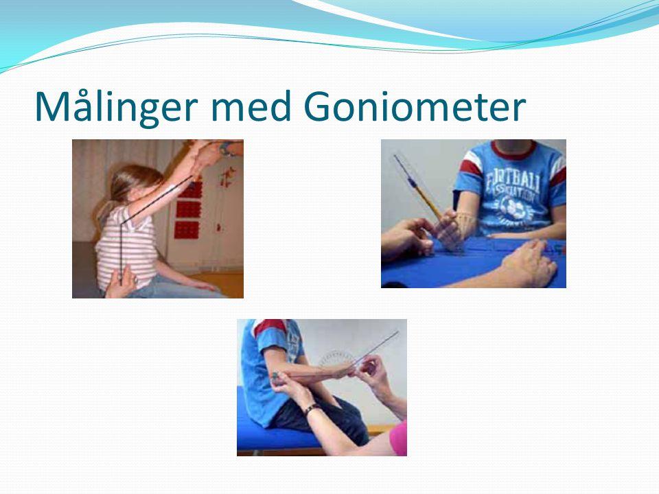 Vi tester stereognostisk sans  Tas ikke før barnet er 4-5 år  På de mindre barna kan man gjøre observasjoner i lek osv.