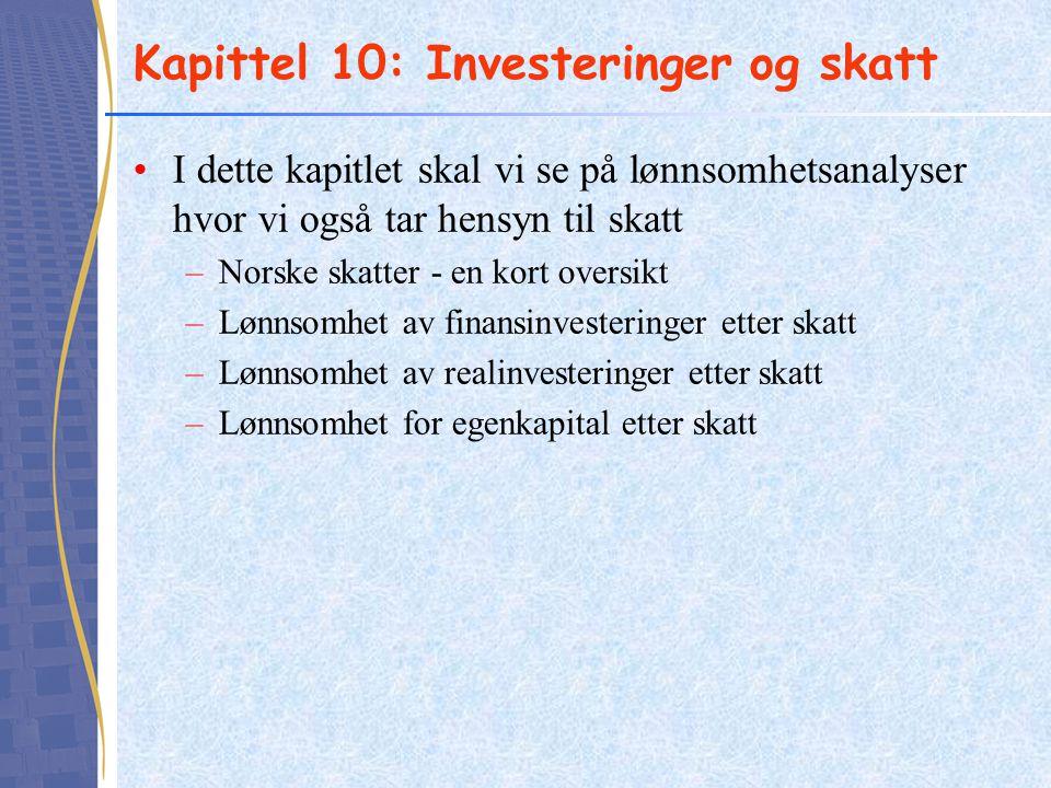 Norske skattesatser 2013 - 2014
