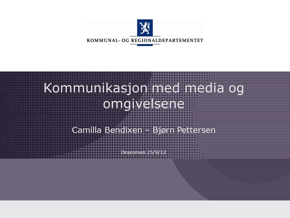 Kommunal- og regionaldepartementet Norsk mal: Tekst uten kulepunkter Du kan: • Publisere • Formidle • Markedsføre • Bygge image: • Kommentere • Vise bilder • Fortelle • Legge ut • Lenke til 12