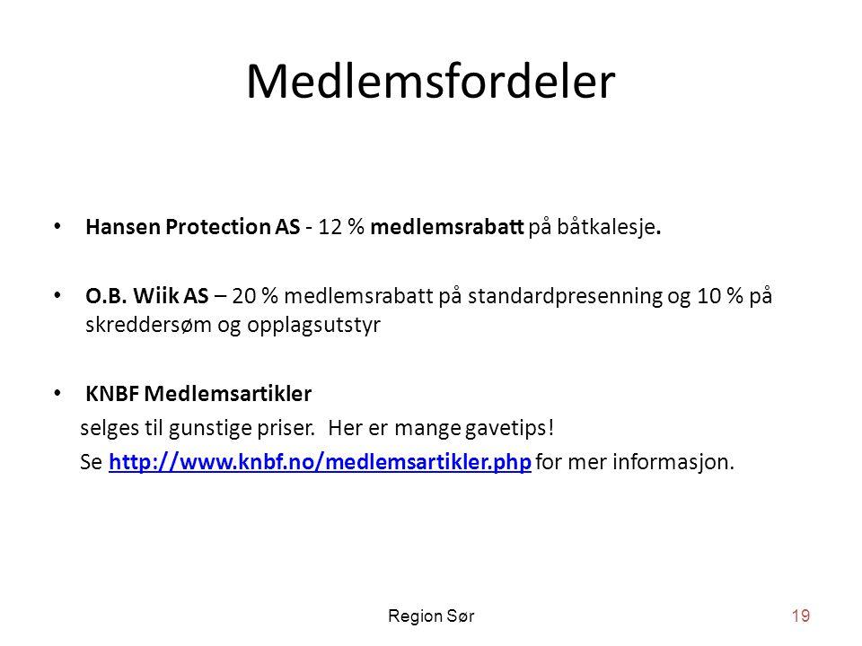 Medlemsfordeler • Hansen Protection AS - 12 % medlemsrabatt på båtkalesje.
