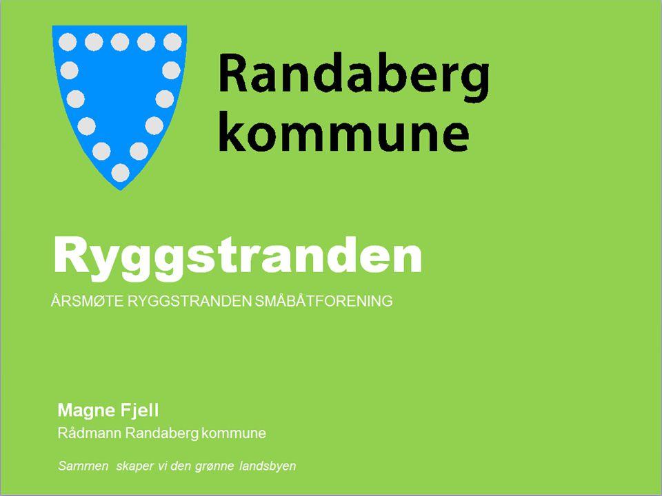 Ryggstranden Magne Fjell Rådmann Randaberg kommune Sammen skaper vi den grønne landsbyen ÅRSMØTE RYGGSTRANDEN SMÅBÅTFORENING