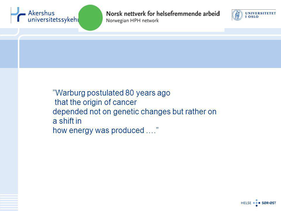Status i Norge •Det registreres ikke informasjon om BMI og ernæringsstatus og FA for pasienter som skal opereres for brystkreft og colorectal kreft.