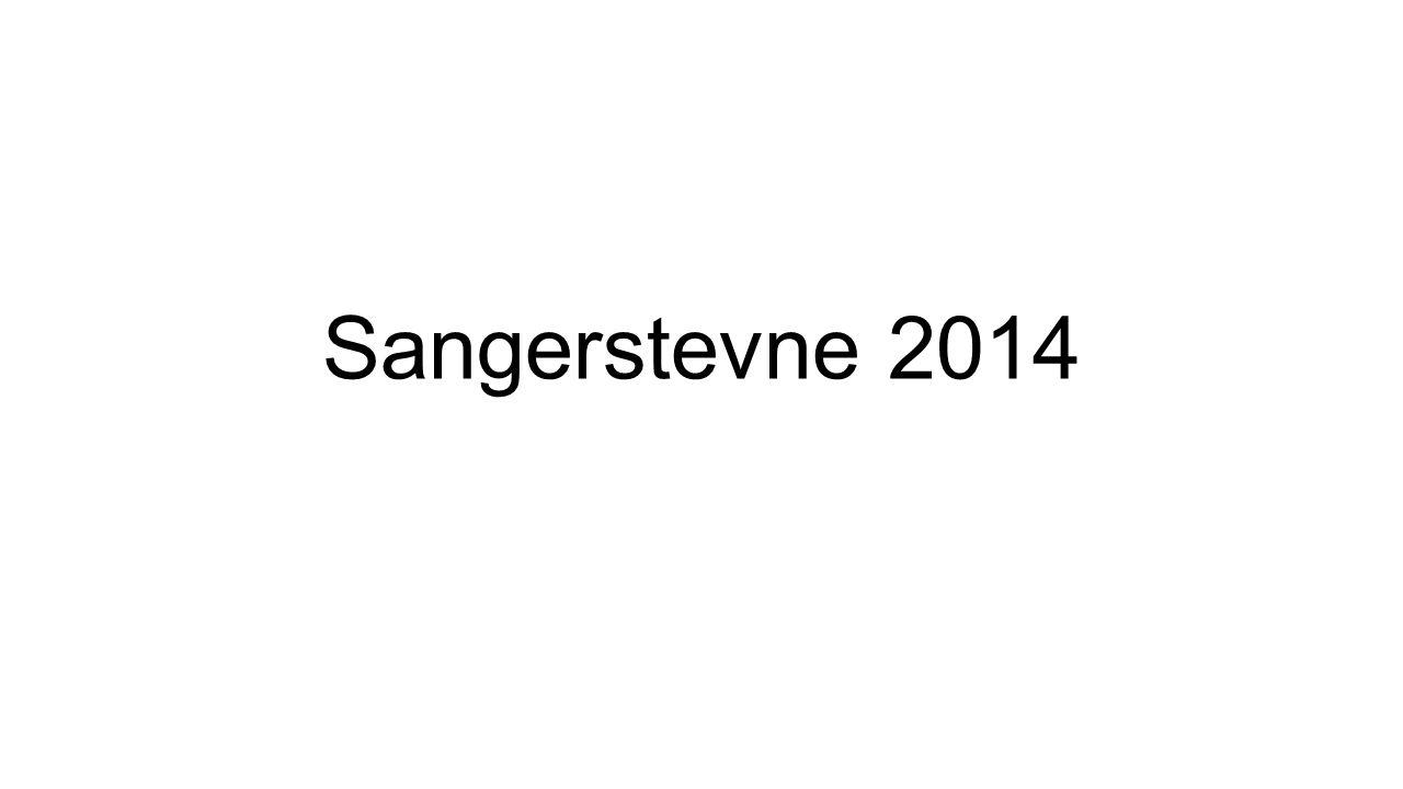 Sangerstevne 2014