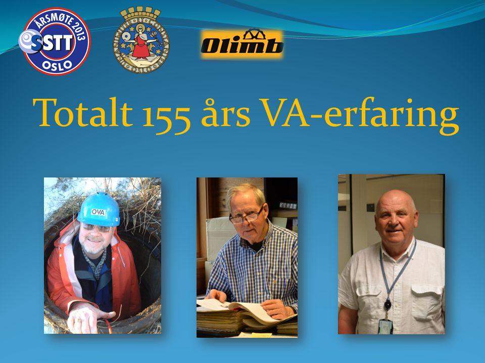 Totalt 155 års VA-erfaring