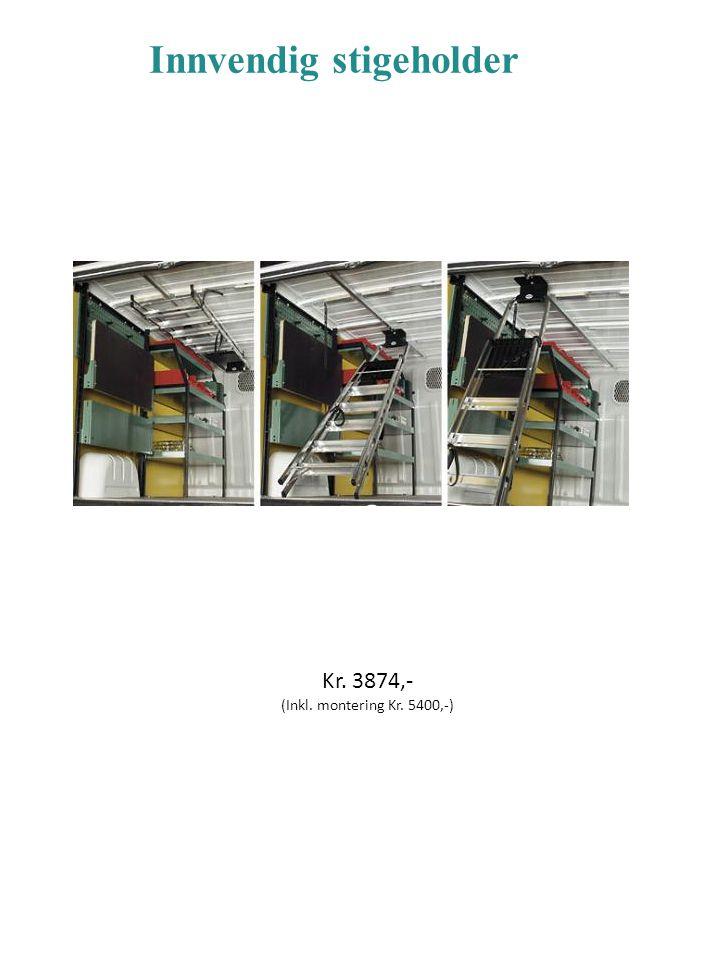 Luminator Compact Metal Xenon 12v Sort stålhus,ramme og holder.