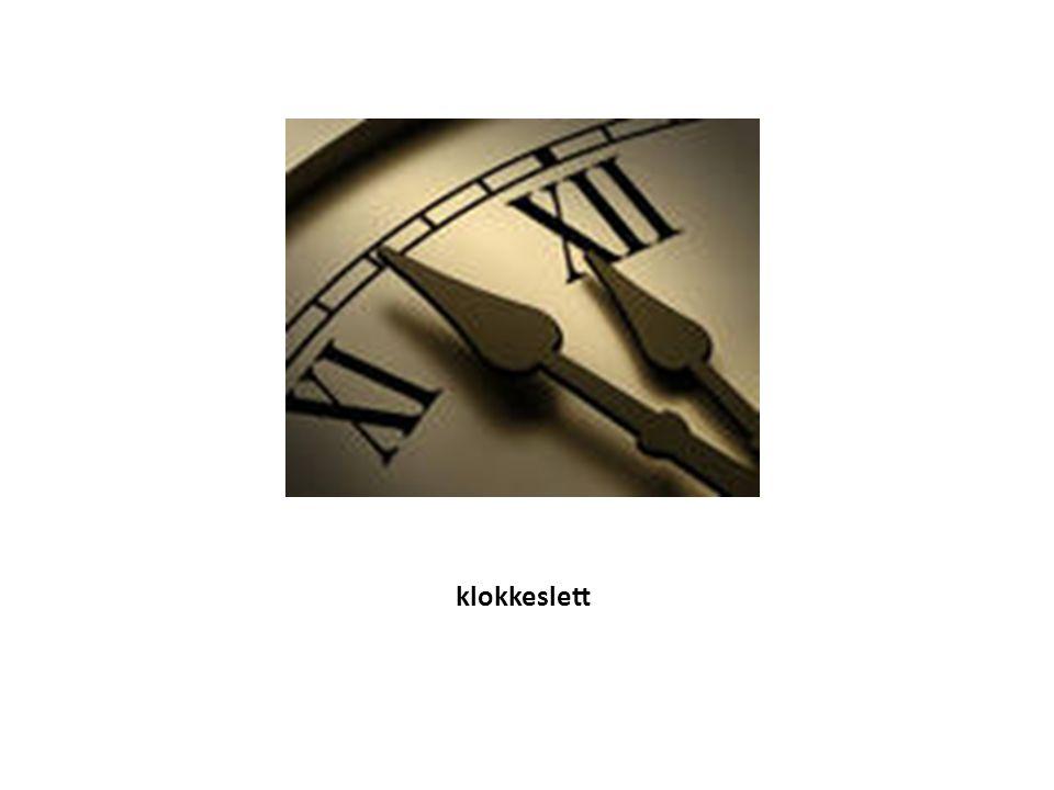 klokkeslett