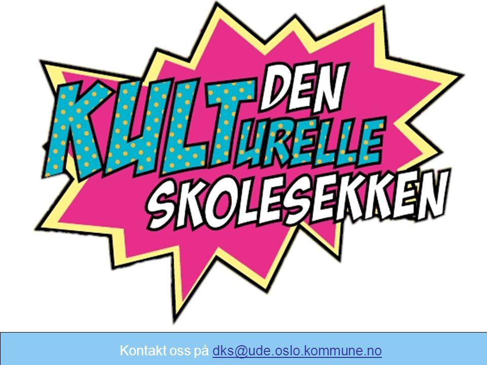 Takk for oppmerksomheten! Kontakt oss på dks@ude.oslo.kommune.nodks@ude.oslo.kommune.no