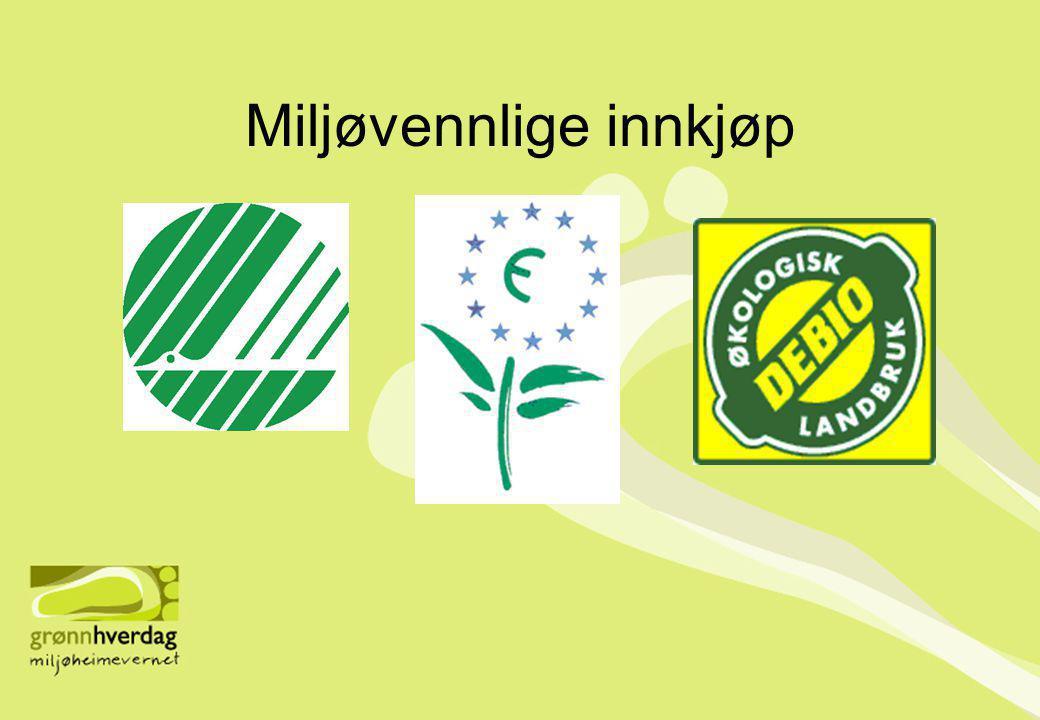 Miljøvennlige innkjøp