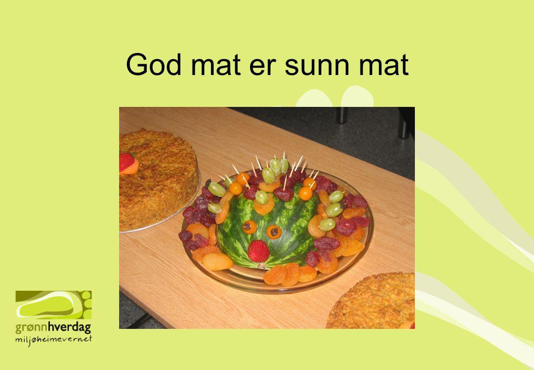 God mat er sunn mat
