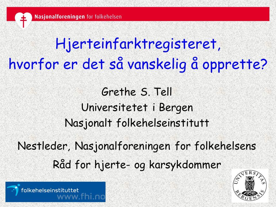 Hjerte-karforskning i Norge Setter regelverket urimelige begrensninger? Ja