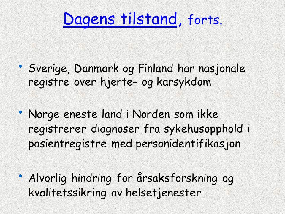 Norsk pasientregister FolkeregisterDødsårsaksregister Personopplysninger Dødsdato Pasientadm.