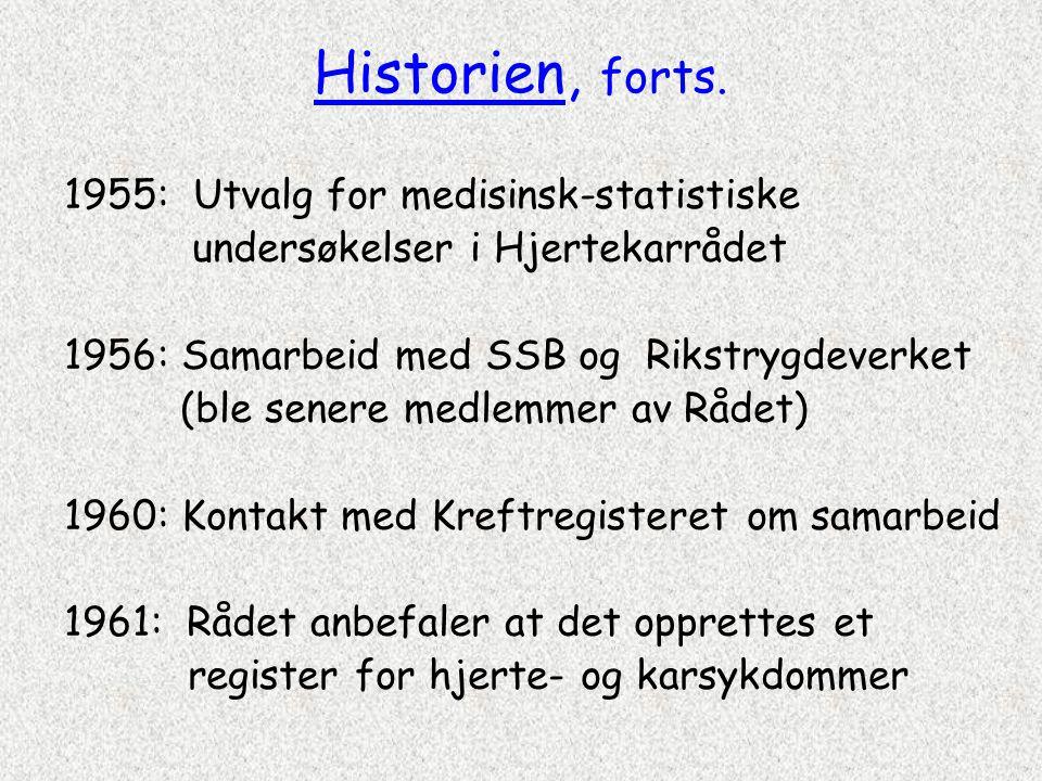 Norsk pasientregister (NPR) • Avidentifisert helseregister (uten navn og fødselsnummer) • Informasjon om det enkelte sykehusopphold, ikke om pasienter • Kan ikke brukes til å belyse om målsettingene for bl.a.
