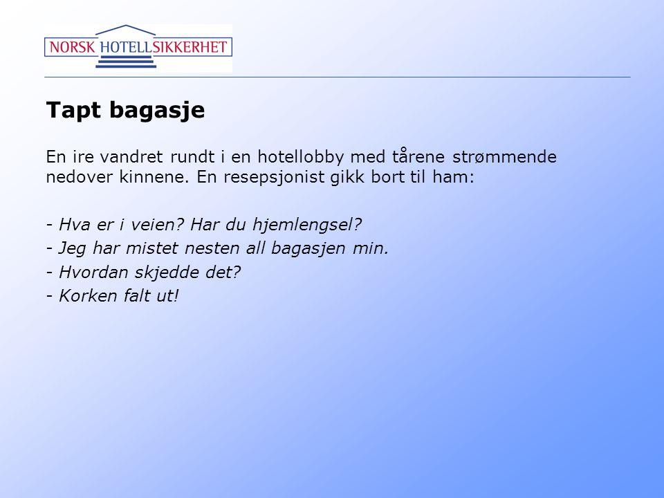 Operativ Leder Hotell vs.