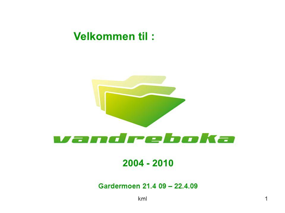 kml1 Gardermoen 21.4 09 – 22.4.09 Velkommen til : 2004 - 2010