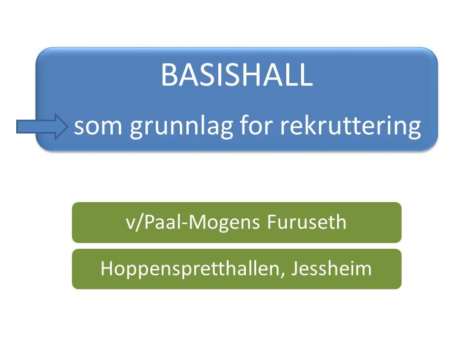 BASISHALL som grunnlag for rekruttering v/Paal-Mogens FurusethHoppenspretthallen, Jessheim
